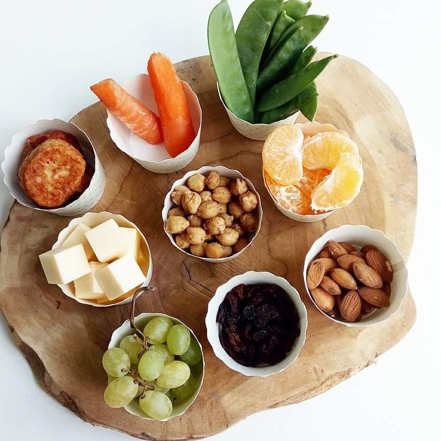 sunde snacks til madpakken
